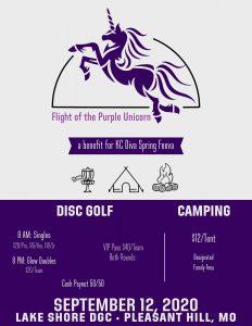 Flight of the Purple Unicorn @ Lake Shore DGC Pleasant Hill MO